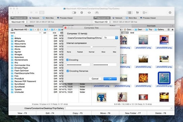 Commender One – 7 Zip, Rar And Targz Archive Software For OS X