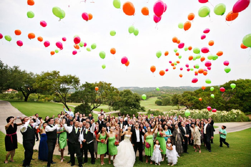 Bright Completion Of The Wedding