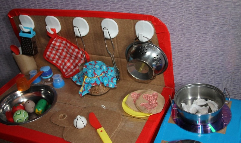Children's Kitchen Out Of The Box